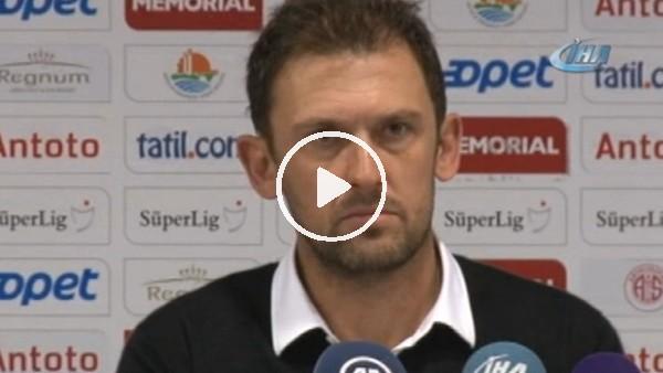 """Popovic: """"Antalyaspor Eto'o'nun kalitesiyle galip geldi"""""""
