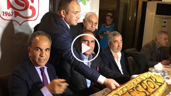 Sivasspor'da Fenerbaçe maçı öncesi moral yemeği!