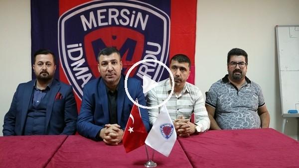 Mersin İdmanyurdu Kulübü Başkanı Mahmut Karak istifa etti