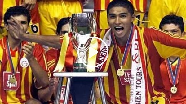 Galatasaray'a Süper Kupa'yı getiren altın gol!