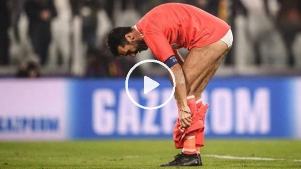Buffon'dan maç sonu ilginç hareket!