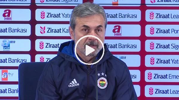 Aykut Kocaman'ın Adana Demispor maçı sonrası açıklamaları