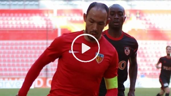 Kayserispor hazırlık maçında Gazişehir Gaziantep'iyendi