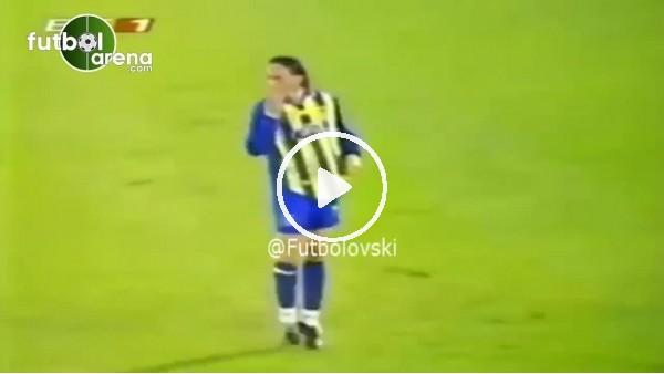 Tuncay Şanlı'nın Fenerbahçe formasıyla Avrupa'daki ilk golü