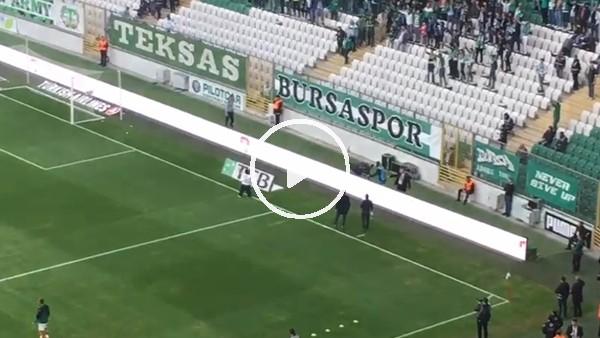 Çaycı Hüseyin, Bursasporlu taraftarlara üçlü çektirdi!