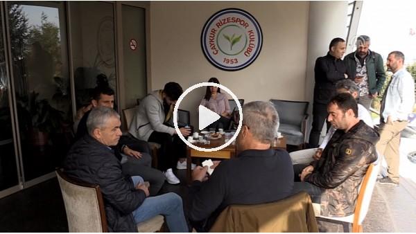 Rıza Çalımbay'dan Çaykur Rizespor Kulübüne ziyaret