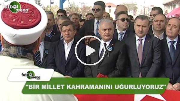 """Naim Süleymanoğlu'na veda! """"Bir milleet kahramanını uğurluyoruz"""""""