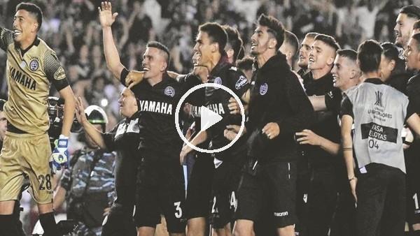 'Lanus, River Plate'i kupanın dışına itti!