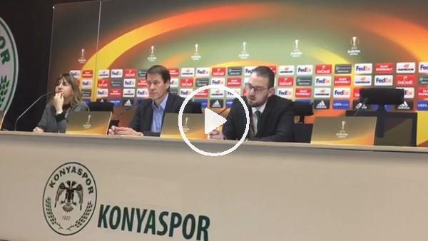 Rudi Garcia'nın Konyaspor maçı sonrası açıklamaları