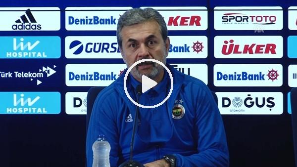 Aykut Kocaman'ın Kasımpaşa maçı sonrası açıklamaları