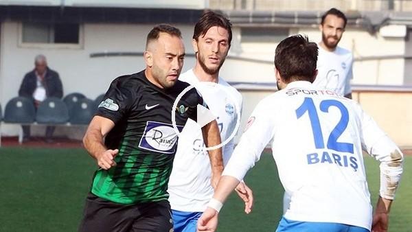Akhisarspor 1-1 Ankara Demirspor (Maç özeti ve golleri)