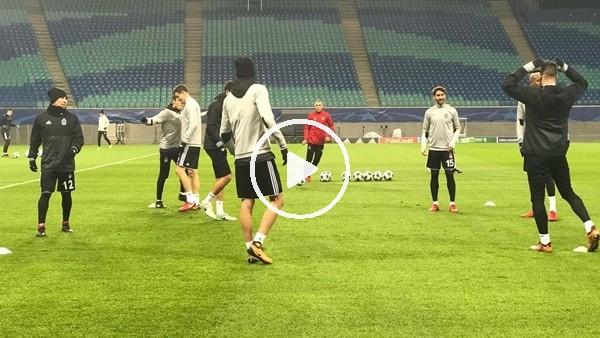 'Beşiktaş, Leipzig maçı hazırlıklarını tamamladı!