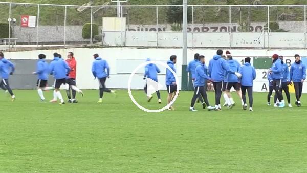 Trabzonspor'da Kardemir Karabükspor maçı hazırlıkları