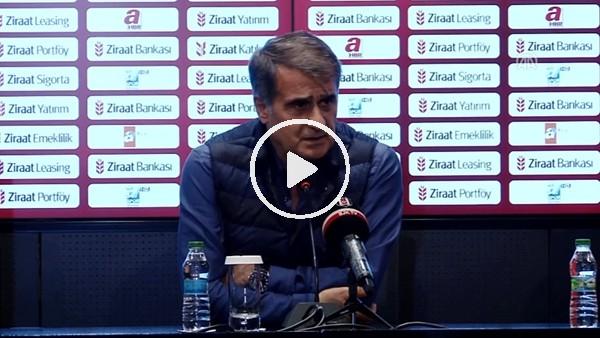 Şenol Güneş'in Osmanlıspor maçı sonrası açıklamaları