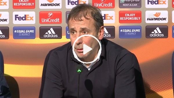 Abdullah Avcı'nın Braga maçı sonrası açıklamaları