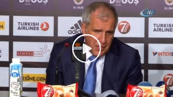 """Zeljko Obradovic: """"Çok fazla sorunumuz var"""""""