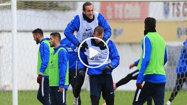Trabzonspor, Karabükspor maçı hazırlıklarını sürdürdü