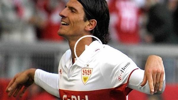 Mario Gomez'in Stuttgart'ta attığı goller