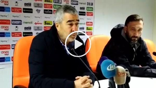 """Samet Aybaba: """"Farklı kazanabileceğimiz maçı berabere bitirdik"""""""