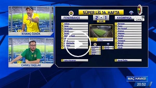 Giuliano farkı 2'ye çıkardı, FB TV spikerleri coştu!