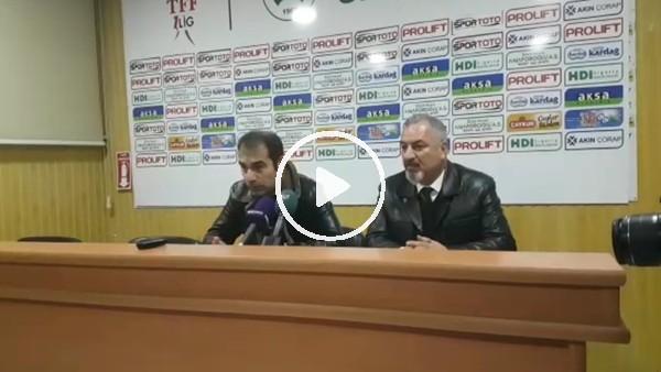 Metin Diyadin'in Rizespor maçı sonrası açıklamaları