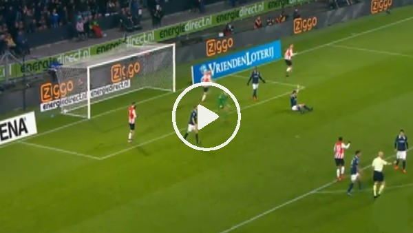 PSV Eindhoven maçında tartışılan gol kararı!