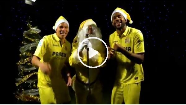Villarrealli futbolculardan yılbaşı videosu
