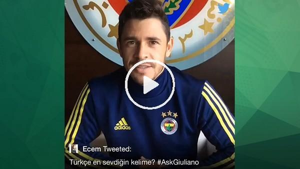 Giuliano'nun en sevdiği Türkçe kelime ne?