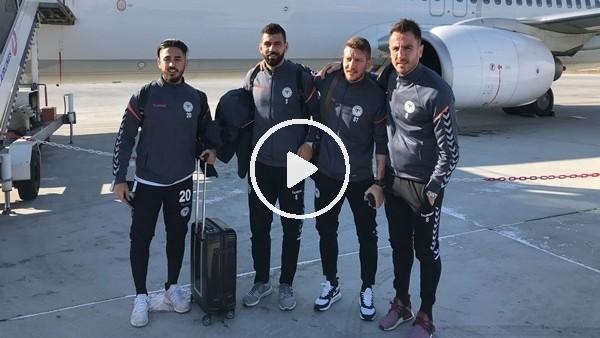 Atiker Konyaspor kafilesi Portekiz'e gitti