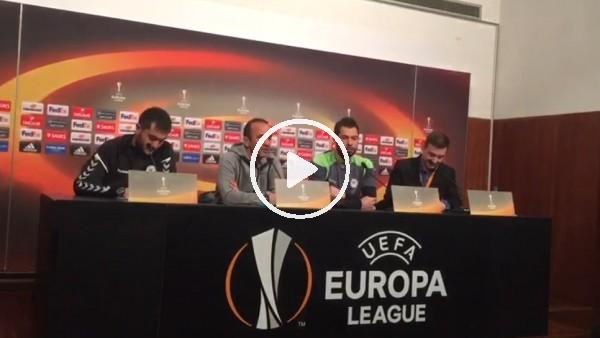 Mehmet Özdilek'in Guimaraes maçı öncesi açıklamaları