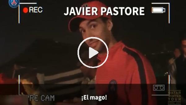 Kylian Mbappe'nin kamerasından PSG tayfası!