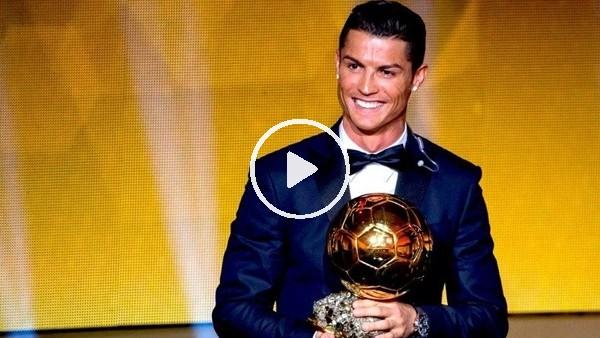 Cristiano Ronaldo, 5. kez Ballon d'Or ödülünün sahibi oldu