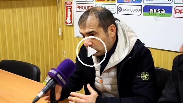 """Metin Diyadin: """"Maçta 10 kişi kalmamıza rağmen yine de kazanmayı başardık"""""""