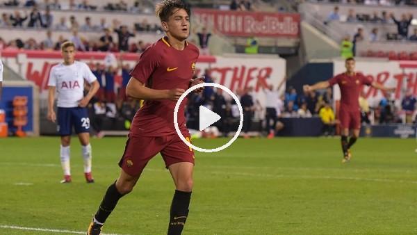 Cengiz Ünder'in Roma formasıyla attığı gol