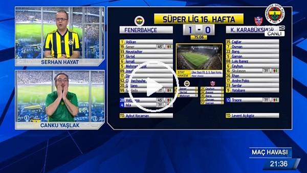 Valbuena'nın müthiş golünde FB TV spikerleri çıldırdı