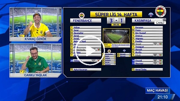 Valbuena'nın Kasımpaşa'ya attığı golde FB TV!