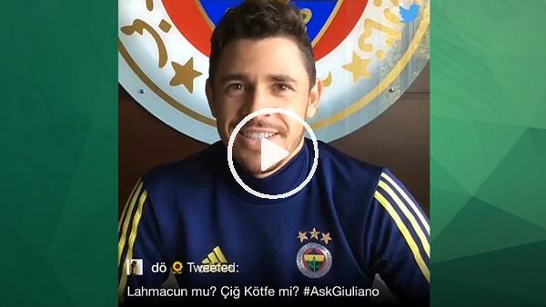 Giuliano'dan lahmacun mu, çiğ köfte mi? sorusuna yanıt