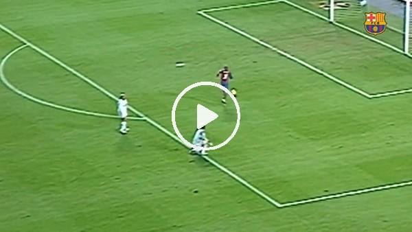 Barcelona, El Clasico öncesi Samuel Eto'o'nun golünü paylaştı!