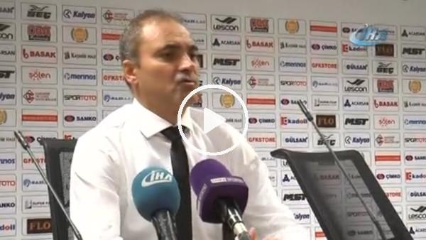 """Erkan Sözeri: """"Bu oyunumuzla galibiyeti hak ettiğimizi düşünmüyorum"""""""