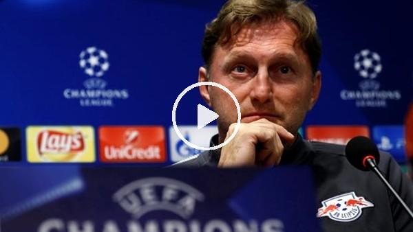 'Leipzig Teknik Direktörü Ralph Hasenhüttl'in Beşiktaş maçı öncesi açıklamaları