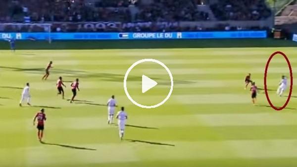 Fenerbahçeli Nabil Dirar ışık hızıyla rakibin içinden geçti