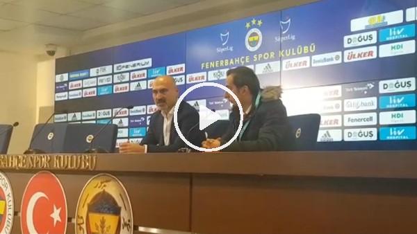 Levent Açıkgöz'ün Fenerbahçe maçı sonrası açıklamaları