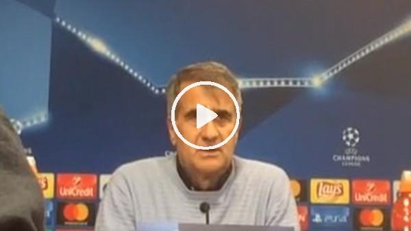 Şenol Güneş'in Leipzig maçı sonrası açıklamaları