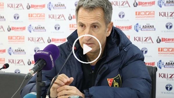 """Tamer Avcı: """"Çok tempolu bir maç oldu"""""""