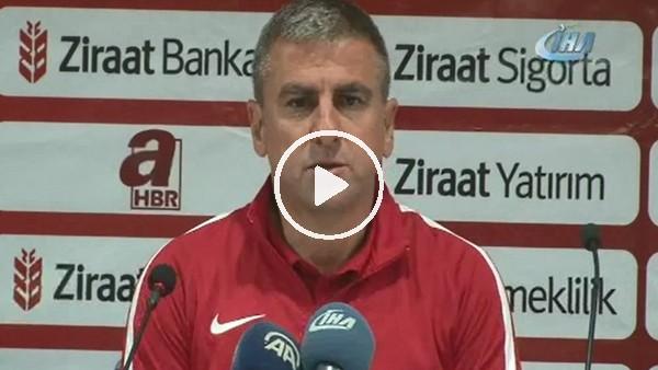 """Hamza Hamzaoğlu: """"Rakip haklı galibiyet aldı"""""""