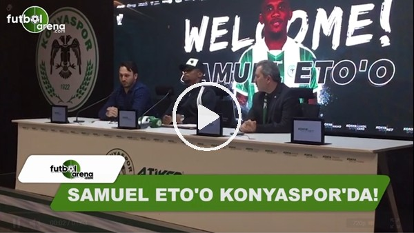 Samuel Eto'o'dan Antalyaspor'a veda mesajı!