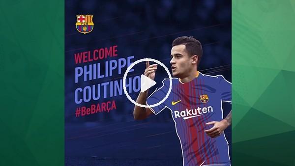 Barcelona, Coutinho transferini açıkladı