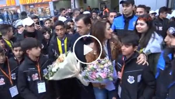 """Fenerbahçe - Göztepe maçına """"Biz Anadoluyuz"""" Projesi kapsamında 200 çocuk geldi"""