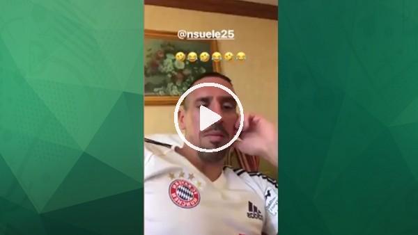 Ribery'nin keyfi yerinde!