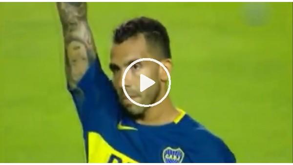 Boca Juniors taraftarları, Tevez'i bağırlarına bastı!